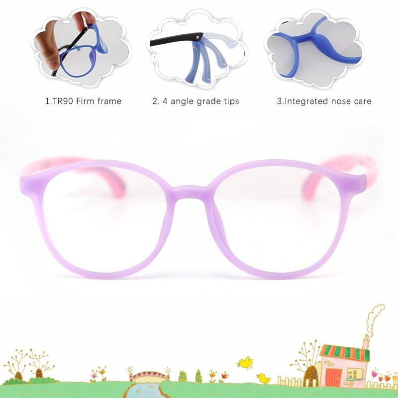 VERDAD niños gafas 4 grados consejos transparentes miopía Marcos de ...