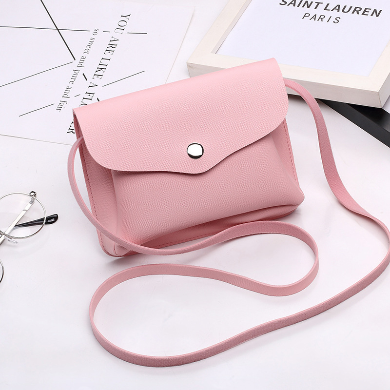 Famous Brand Design Small Square Flap Bag Mini Women Messenger Crossbody bags Sling Shoulder Leather Handbags Purses