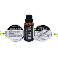 2 Pcs For Natural Organic Beard Oil Berad Comb For Groomed Beard Growth Mustache Softens Your