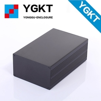 YGS 014 127 75 200 Mm W H L Anodized Enclosure Aluminum Wall Mounting Electron Instrument
