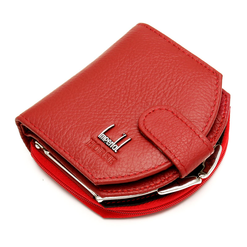 Fashion Luxury Brand Women Cow Leather Hobos Coin Purses Genuine Leather Small Wallets Coins Purses Hobos Design sac femme 2016 fashion new brand women coin purses holders genuine leather small wallets hobos design sac femme female