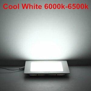 Image 5 - 20 pz/lotto Dimmable Ultra sottile 3 W/4 W/6 W/9 W/12 W/15 W/25 W LED Da Incasso A Soffitto Griglia di Incasso/Sottile Pannello Quadrato luce