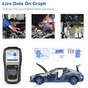 Image 2 - Autel escáner automático ML519 OBD2, herramienta de diagnóstico OBD 2, escáner de diagnóstico de coche Eobd Automotriz