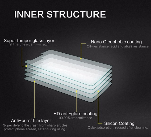 9H Tempered Glass For LG Qstylus/STYLO4 Q7 G3 H420 G5 G2mini G4S K4 Leon H502F G4Pro Magna X Power K5 Q6 Screen Protector Film