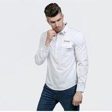 Camisa Men 2017 Fashion Slim Fit Casual Long Sleeve Cotton Shirts High Quality Tuxedo Shirt Autumn Clothing Men Designer Shirts