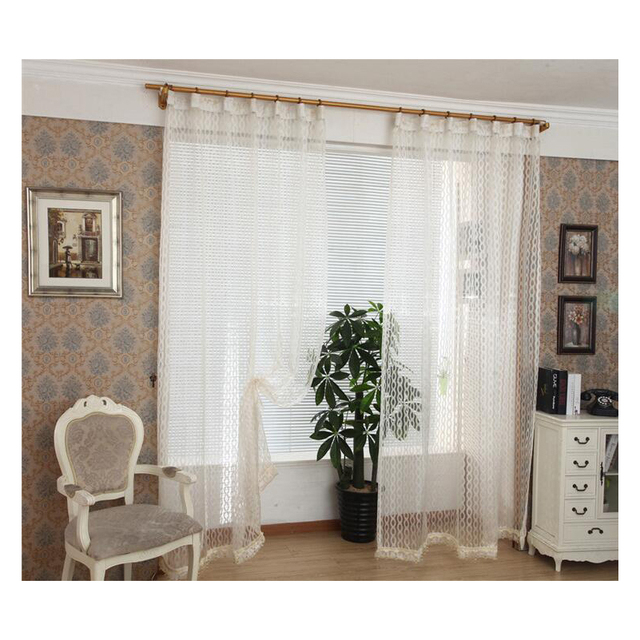 High End Circles Watkins Jacquard Curtains Voile Bedroom Sheer For Living Room Hotel Tulle