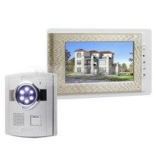 DIYSECUR Wired Video Door Phone Handsfree Intercom 7″ LCD Monitor Vandalproof Camera