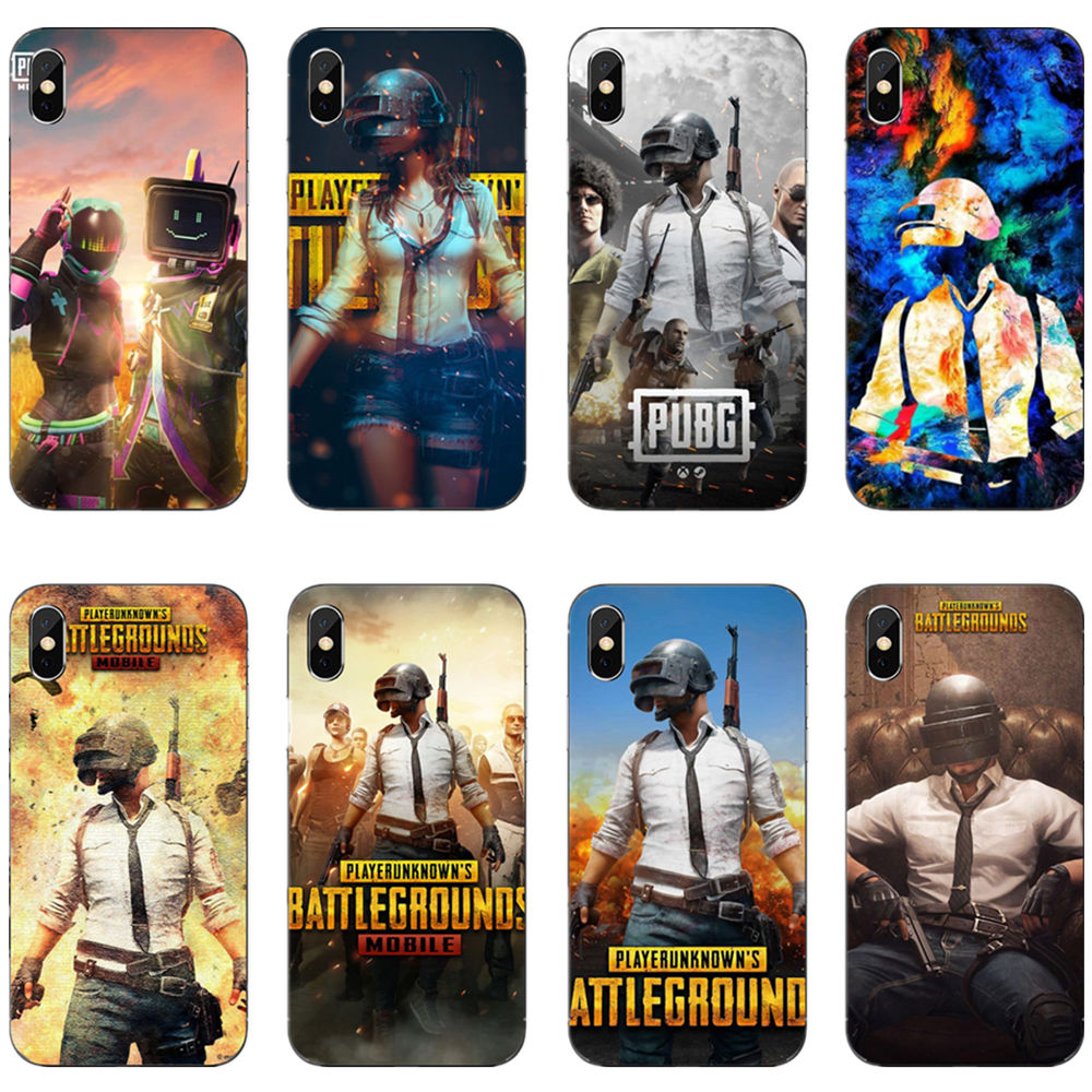 Luxury PUBG Game soft TPU cover phone <font><b>case</b></font> For <font><b>iPhone</b></font> 11 Pro MAX 2019 SE <font><b>6</b></font> 6SPlus 7 8Plus 5 5S <font><b>6</b></font> 6S 7 8 MAX XR XS X10 Copue image