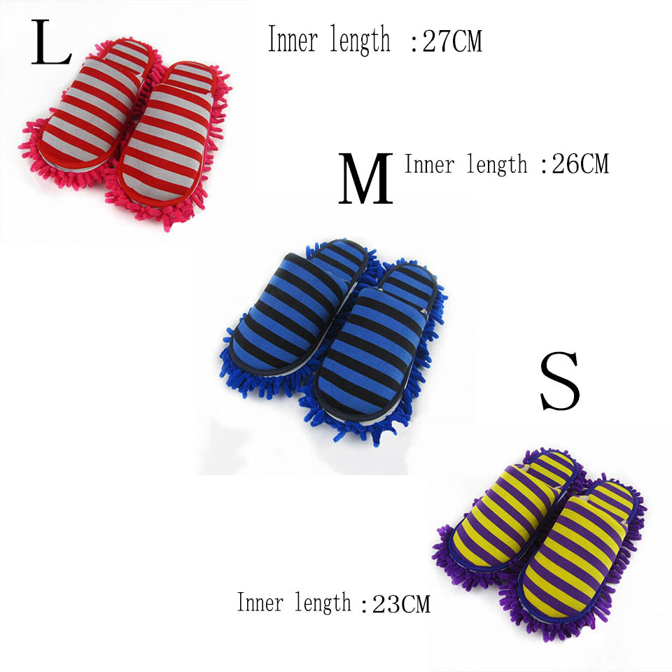 Microfiber Cleaning Mop Slippers For Floor