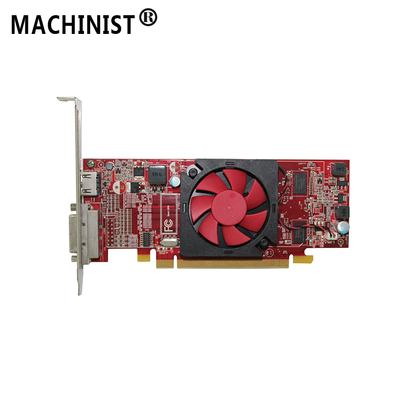 Amd Radeon R5 235 1g Ddr3 Desktop Video Graphic Card Gpu Hdmi Dvi Output Interface For Hp 742769 001 Add On Cards Aliexpress