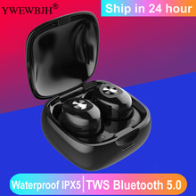 YWEWBJH TWS Bluetooth Earphone V5.0 Touch control Wireless headset Sport weatproof Stereo Earbuds with Charging rockspace tws touch control headset hifi stereo earbuds wireless earphone bluetooth portable with microphone earphone