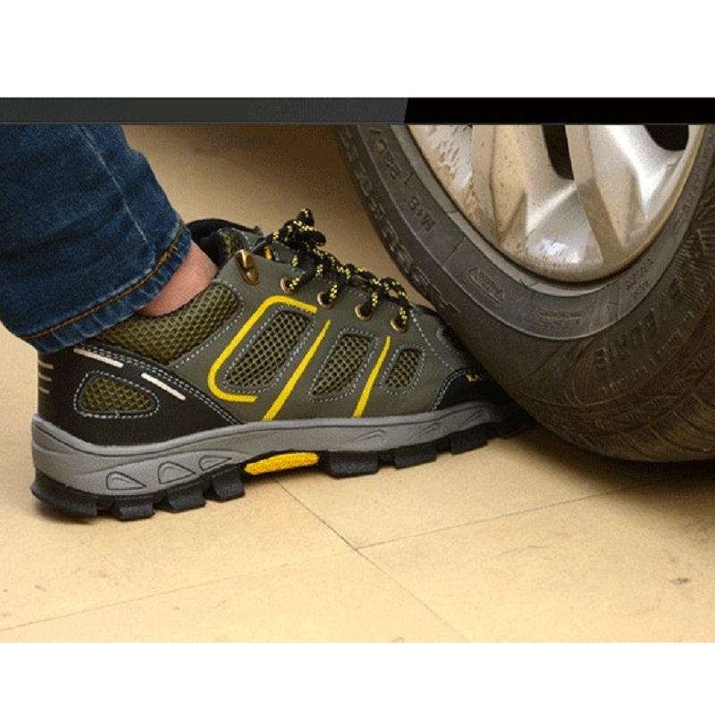 Safety Man Casual Shoes Steel Toe Cap