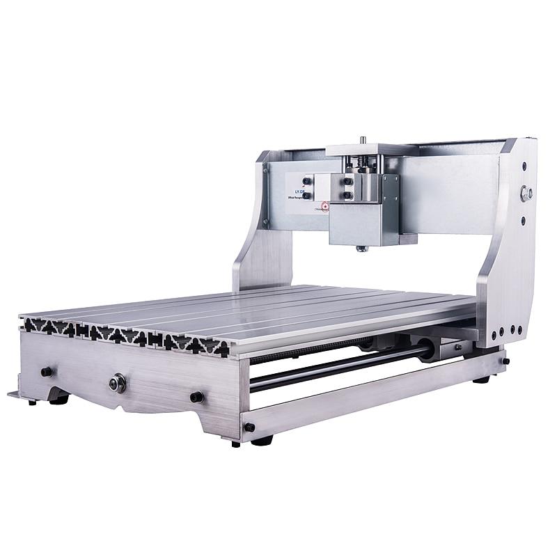 Aluminium bricolage CNC 3040 cadre Kit Mini CNC Machine de gravure routeur tour lit
