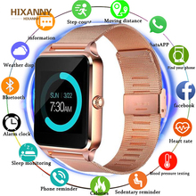 2019 Smart Watch GT08 Plus Metal Strap Bluetooth Wrist Smartwatch Support Camera