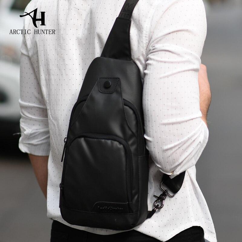 Image 3 - ARCTIC HUNTER Oxford Cloth Fabric Crossbody Bags for Men Messenger Chest Bag Pack Casual Bag Waterproof Single Shoulder Bag