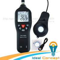 Light Lux Meter Digital with Data Record Function 0 200,000 Measurement Range Auto Ranging Lux Instrument