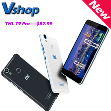 Original THL T9 Pro 4G LET Android 6.0 MTK6737 Quad Core 1.3GHz RAM 2GB ROM 16GB 720P 5.5 inch Smartphone A-GPS Fingerprint