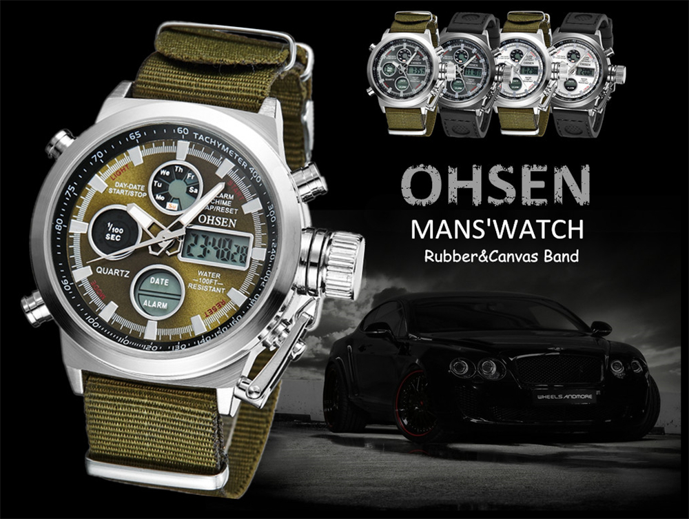 Hot Selling Original Famous Brand OHSEN Digital Sport Mens Watch Male Clock Nylon Band Fashion Diving Wristwatches For Men Gift (9)