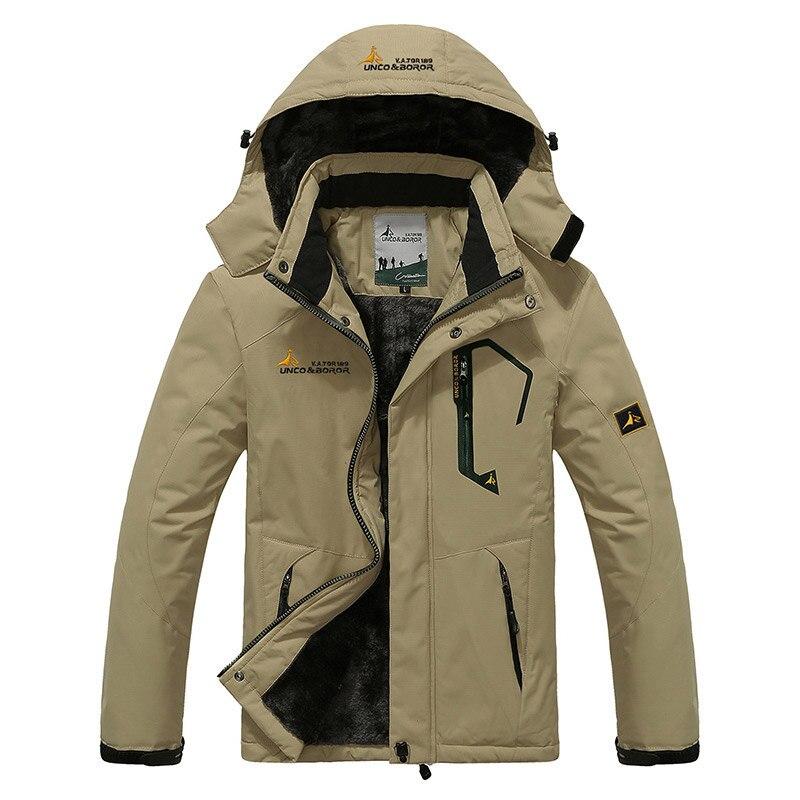2017 большой Размеры Одежда высшего качества теплая верхняя одежда Для мужчин Мужские парки спортивная зимняя куртка утепленный капюшон открытый Для мужчин куртка Размеры L-4XL 9 Цвета