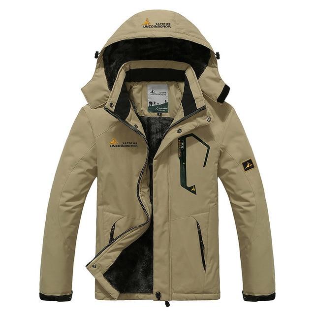 ebae59c3b US $39.83 17% OFF|2019 Large Size Top Quality Warm Outwear Men Parkas Sport  Winter Jacket Thicken Hood Outdoor Men Jacket Size L 4XL 9 Colors-in ...
