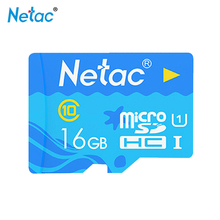 Netac P500 micro sd card 16gb Ocean Blue Class 10 cle tarjeta tf card tablet tf