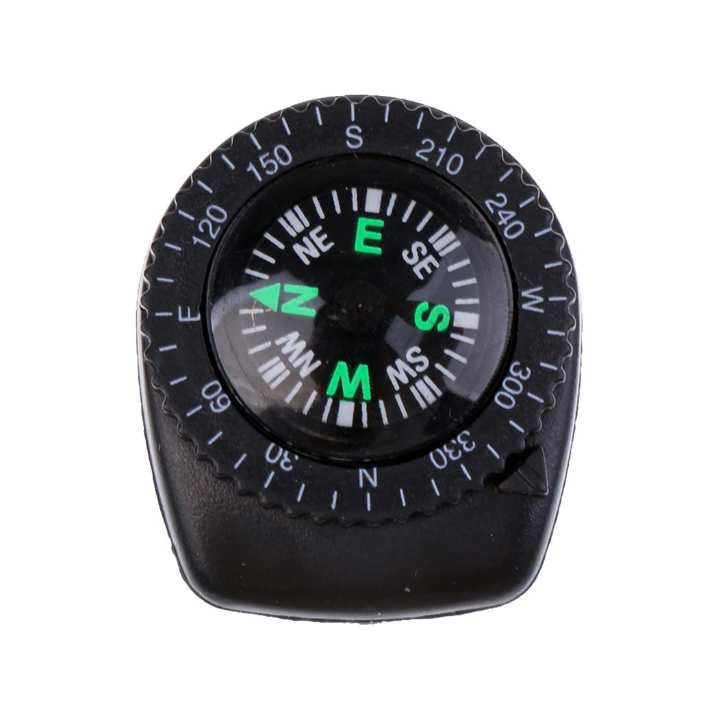 Watchband Compass Outdoor Guides for Watch Band Camping Hiking Hunting Trekking