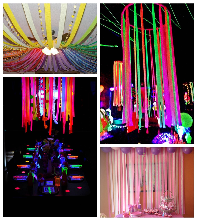 16pcs Set Halloween Decorations Background Foil Curtain