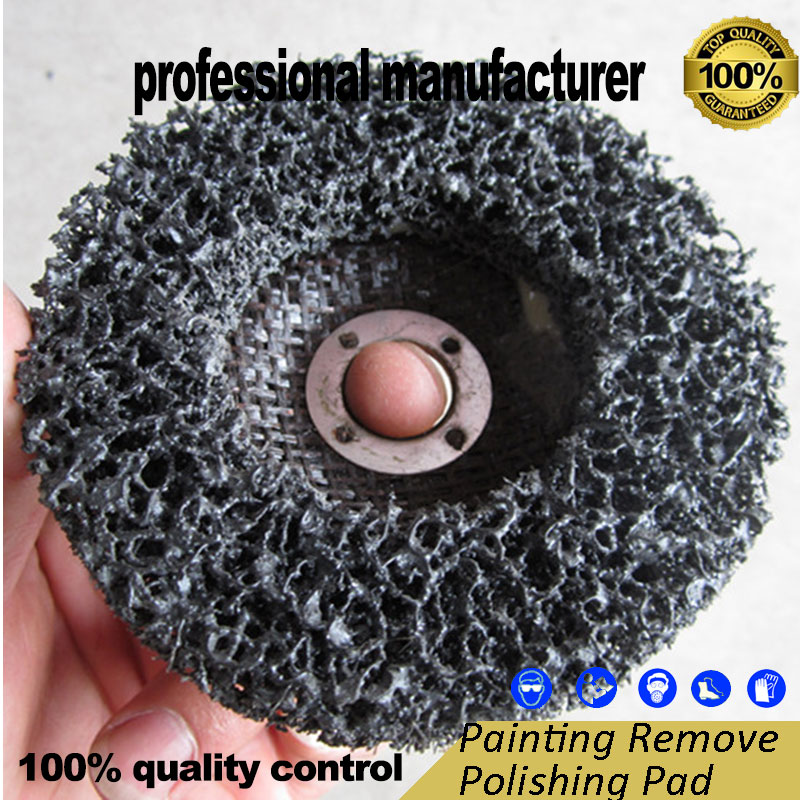 Steel Sand Polishing Pad For Steel Forged Iron Stone Road  Steel Water Pipe And Tile Polishing