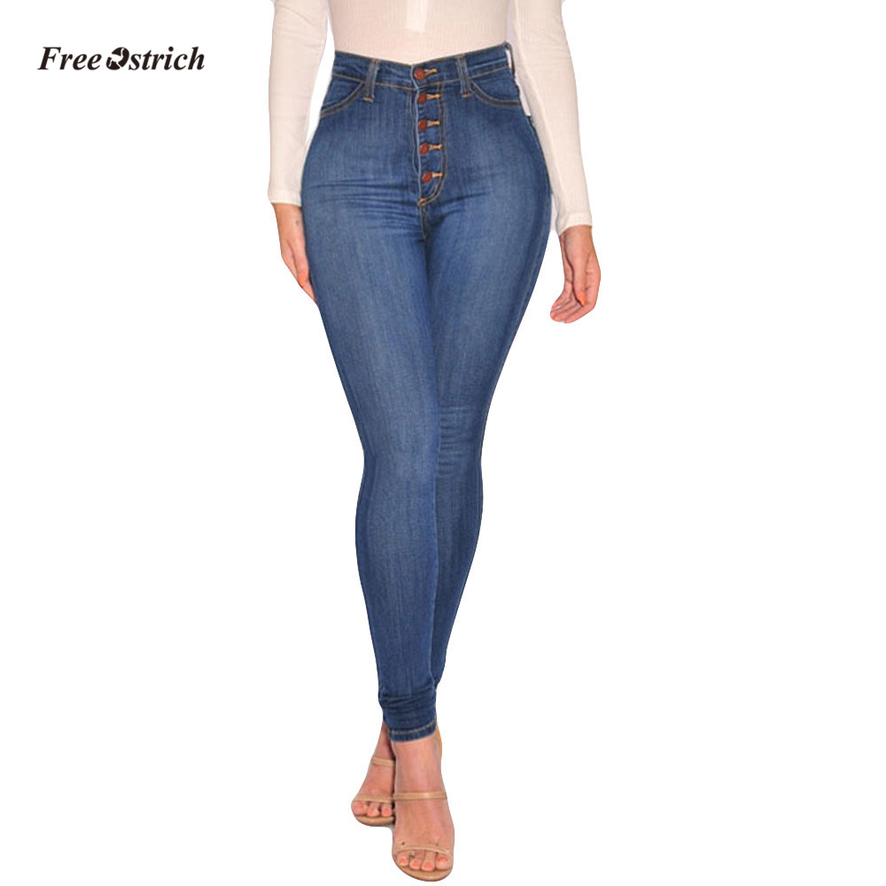 Free Ostrich Clothes Women   Jeans   Women High Waisted Skinny Denim   Jeans   Stretch Slim Pants Calf Length   Jeans   leggings   jean   Pants