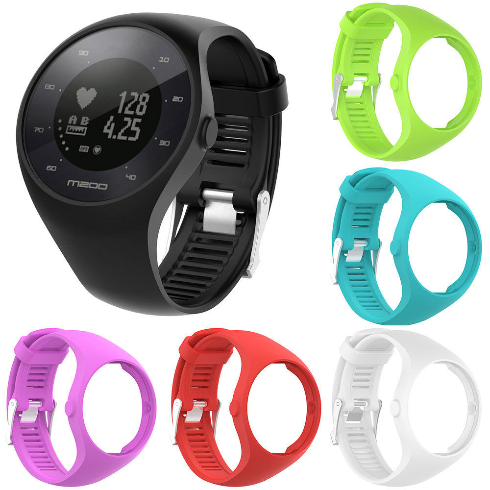 Image 3 - Useful Premium Silicone Soft Band Watch Wrist Strap For Polar M200 GPS Watch Replacement-in Smart Accessories from Consumer Electronics