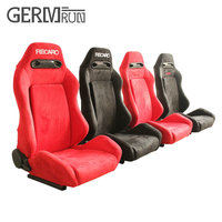 1 Pair High quality Sport Racing Car Seat Red Black Cloth BRACKET Auto Seat