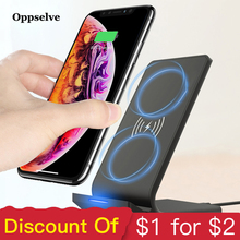 Universal Qi Fast Wireless Charger For iPhone X XS Max XR Samsung Note 9 S9 Charger 10W Power Charging Pad Docking Dock Station mn21 charging docking station w battery dock for samsung galaxy note 3 n9000 black