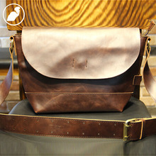 ETONWEAG New 2016 men famous brands cow leather brown high quality luxury business style messenger bags laptop shoulder bags