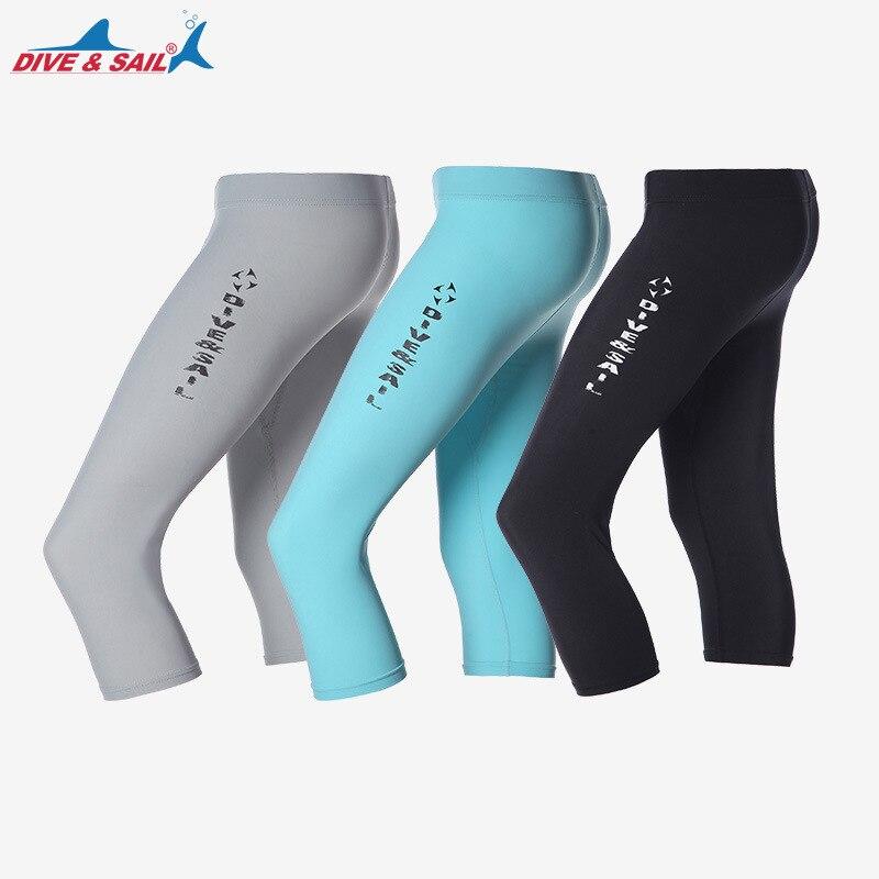NEW Swimming trunks for men women Swimwear Bottoms Swim Capris Cropped Pants Fitness Swim Trunks Surf Sport Shorts Slim Legging
