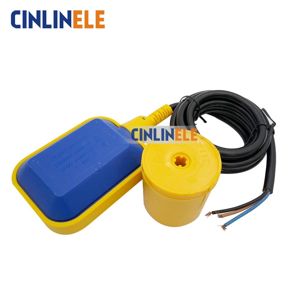 Stainless Steel Tank Liquid Water Level Sensor Horizontal Float Switch Liquid Fluid Water Level Controller Sensor 5M