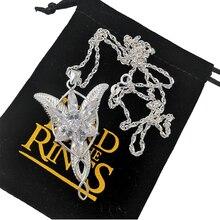 LOTR Arwen Evenstar S925 серебряная подвеска ожерелье Elf Nekclace серебряные ювелирные изделия новогодние подарки на день святого Валентина для женщин и девушек