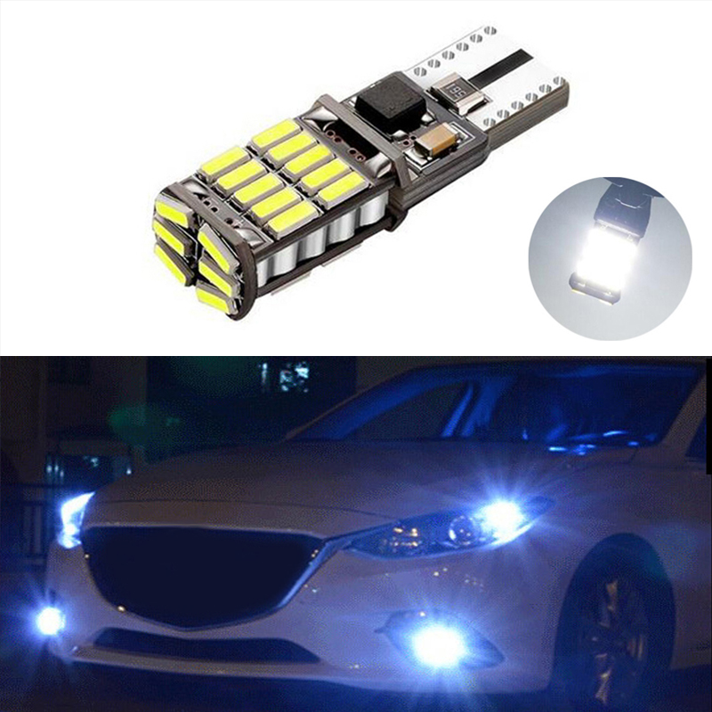 BOAOSI 1X Canbus Car <font><b>LED</b></font> T10 W5W 26LED Parking Light For <font><b>Mazda</b></font> 323 626 cx-5 3 6 8 Atenza <font><b>cx7</b></font> cx-7 mx5 cx3 rx8 cx5 image