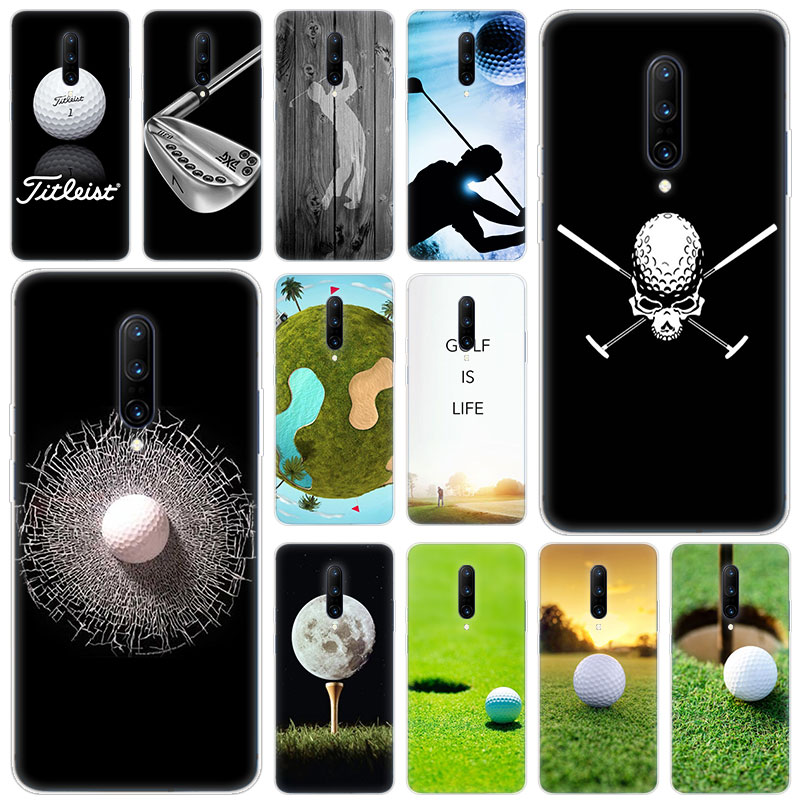 Hot golf balls Soft Silicone Fashion Transparent Case For font b OnePlus b font font b