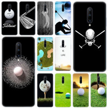 Hot golf balls Soft Silicone Fashion Transparent Case For OnePlus 7 Pro 5G 6 6T 5 5T 3 3T TPU Cover