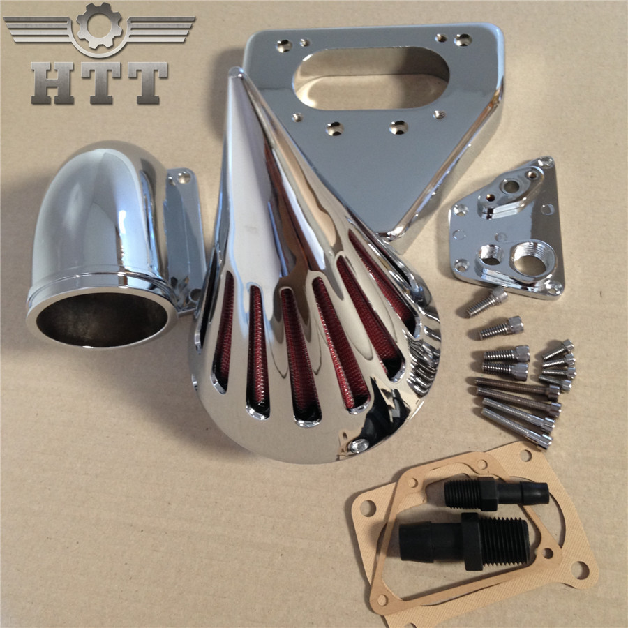 Aftermarket motorcycle parts Spike Air Cleaner intake filter kits for 2002-2009 Hond VTX 1800 Chrome aftermarket motorcycle parts chrome spike air cleaner for yamaha road star 1600 xv1600a 1700 xv1700 1999 2012