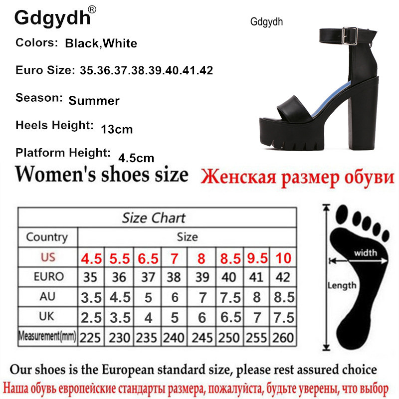Gdgydh Drop Shipping White Summer Sandal Shoes for Women 2019 New Arrival Thick Heels Sandals Platform Gdgydh Drop Shipping White Summer Sandal Shoes for Women 2019 New Arrival Thick Heels Sandals Platform Casual Russian Shoes