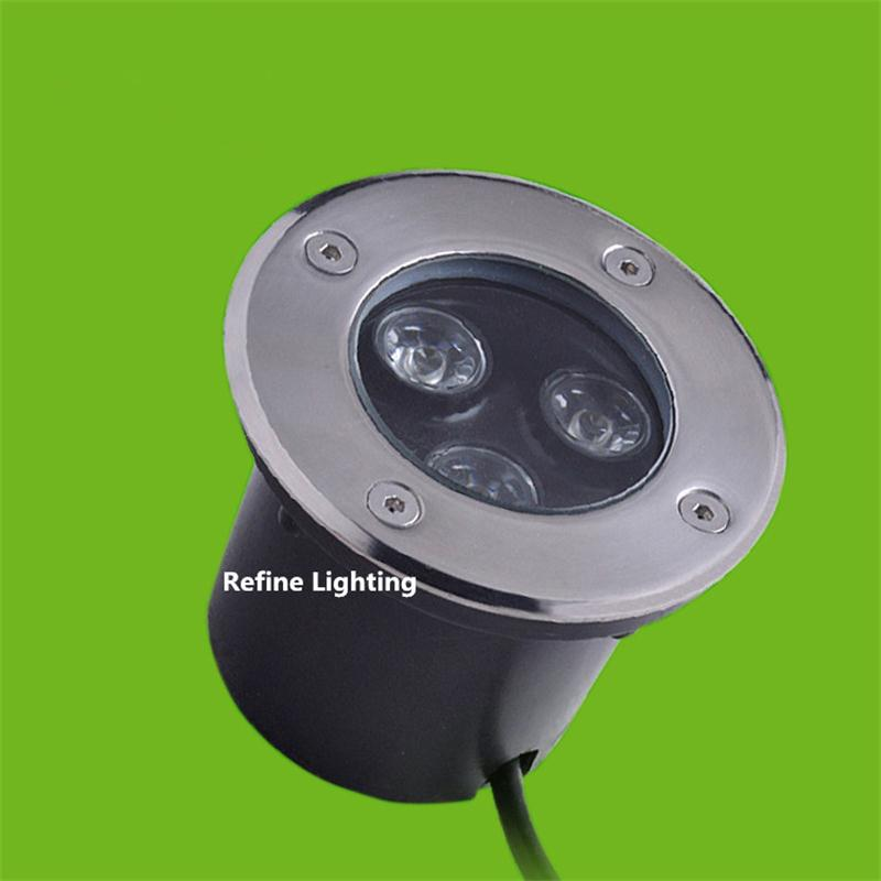 Led buried lamp 3w outdoor step lights ac85 265v 12v 24v deck light recessed led spot light ip65 - Spot led ip65 12v ...