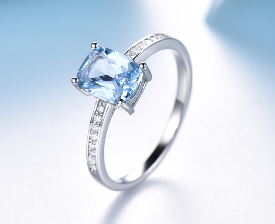 Honyy Sky blue topaz silver sterling jewelry sets for women EUJ054B-1-pc (9)