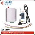 2 sets SV6500 433 МГц TTL Интерфейс 5 Вт Высокой Мощности и 8 км Long Distance Беспроводной Модуль Приемопередатчика