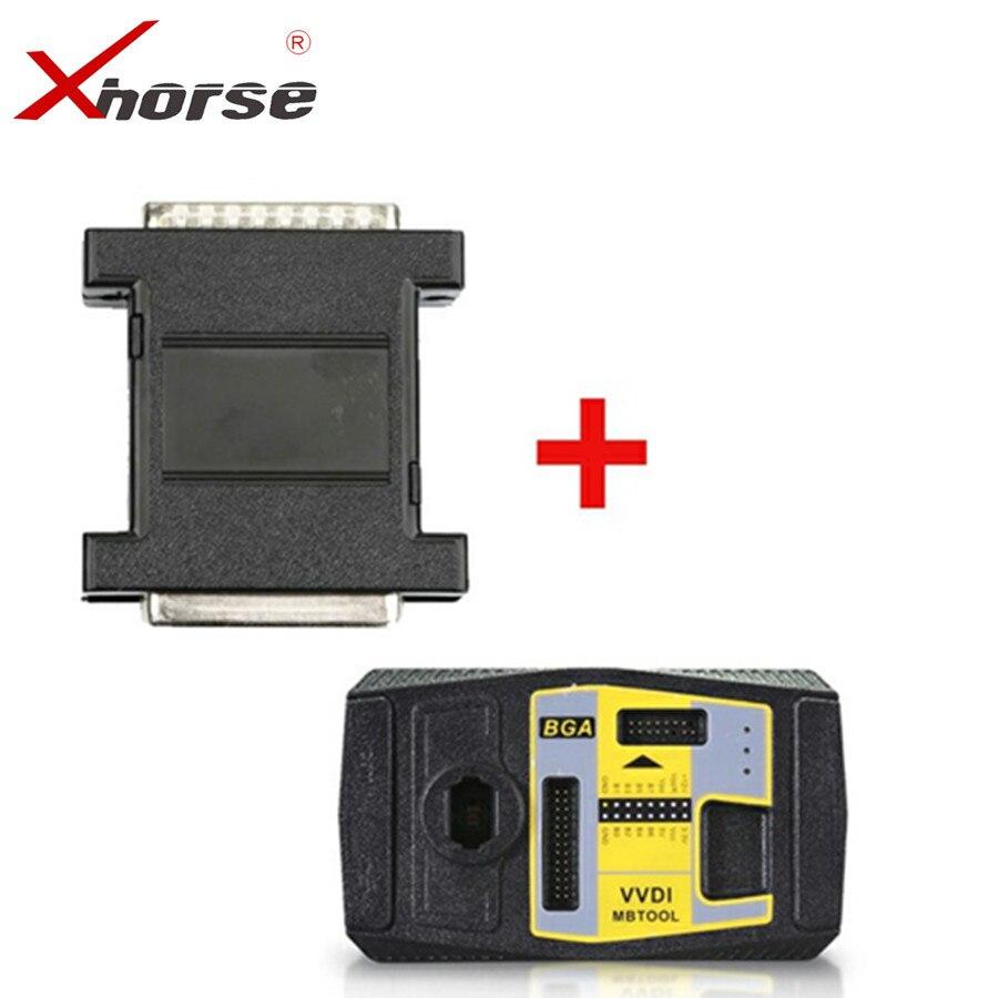 Xhorse V4.0.0 VVDI MB BGA TooL Key Programmer Plus VVDI MB Tool Power Adapter for Data Acquisition