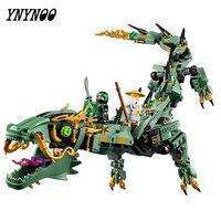 YNYNOO 06051 592pcs Movie Series Flying Mecha Dragon Building Blocks Bricks Baby Toys Children Gift Model