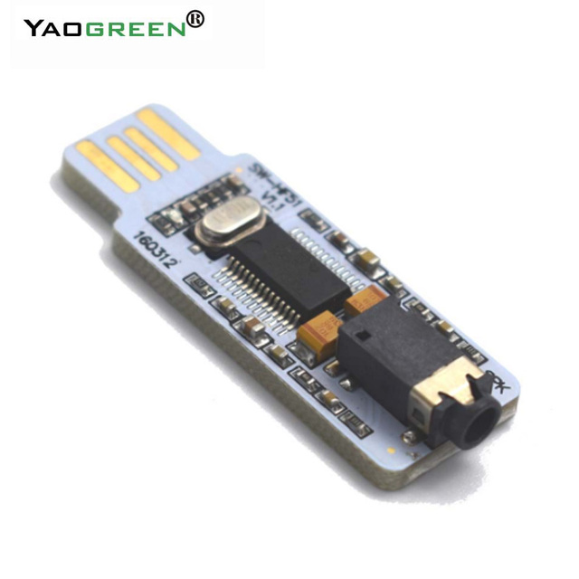 Aliexpress com : Buy PCM2704 Mini USB Audio DAC Decoder Board Driver module  for PC laptop hifi amplifier HF51 A7 018 from Reliable Amplifier suppliers