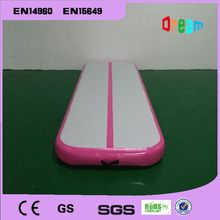Free Shipping 4*1m Pink Inflatable Air Track Gymnastics Tumbling Trampoline Mat