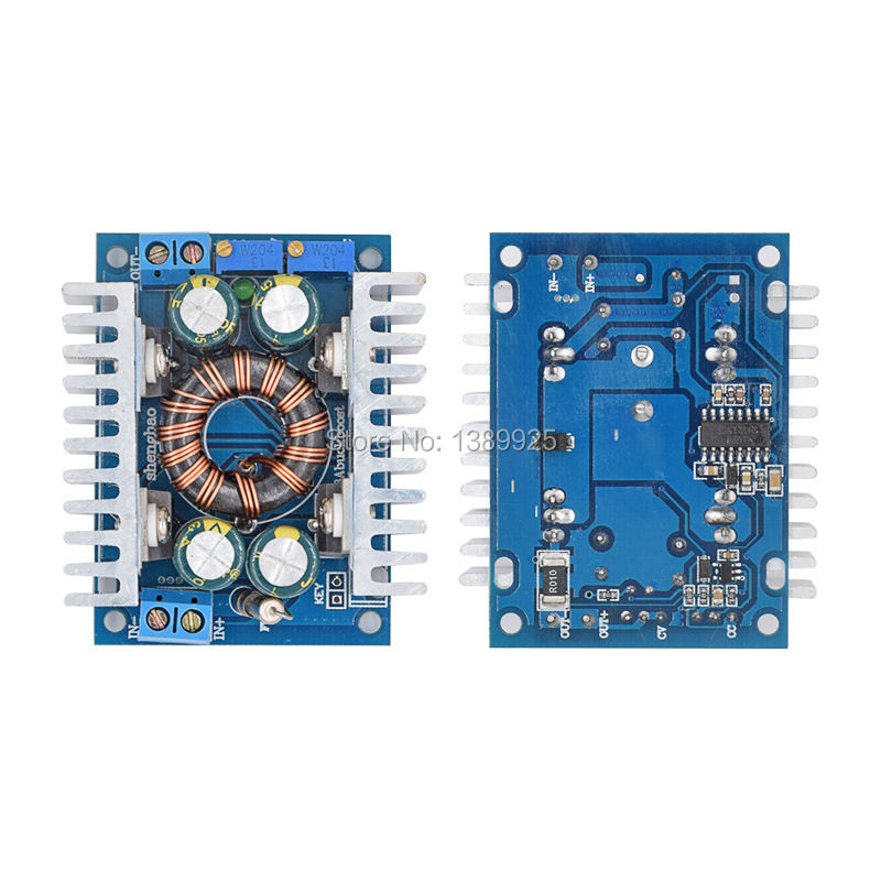 DC-DC 8A Solar Automatic Step-up Step-down Adjustable Power Supply Module