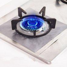 2 Pçs/lote Reutilizável Folha Faixa de Fogão A Gás Fogão Queimador Liner Protetor Capa Para A Limpeza de Utensílios de Cozinha
